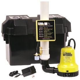 Basement Watchdog 1000 GPH Battery Backup Sump Pump System $140
