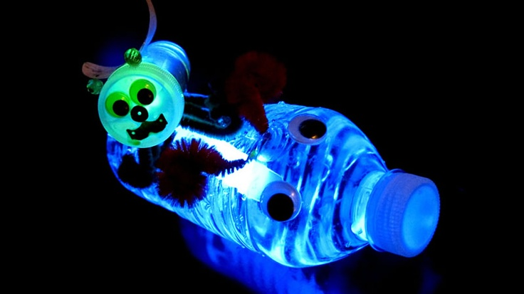 Glowing Water Bottle Bugs! http://glowproducts.com/