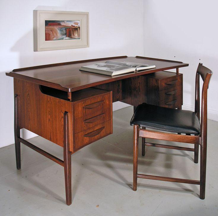 Svend Madsen Danish rosewood desk