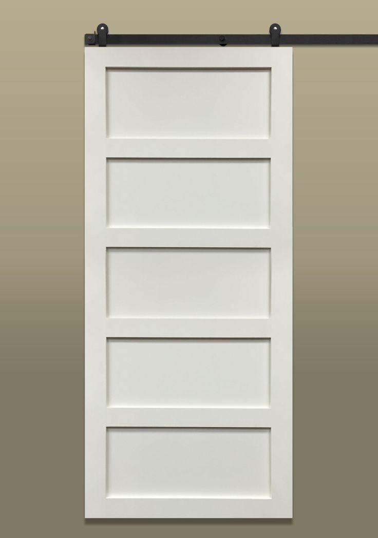 Shaker 5 panel gives a sense of what board batten for Barn doors las vegas