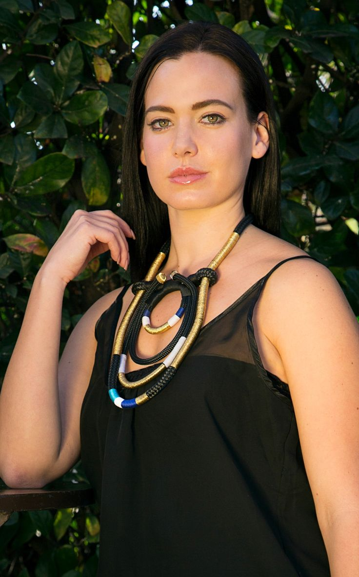 PICHULIK Eritrea necklace is bold, feminine and lightweight enough to wear all day.