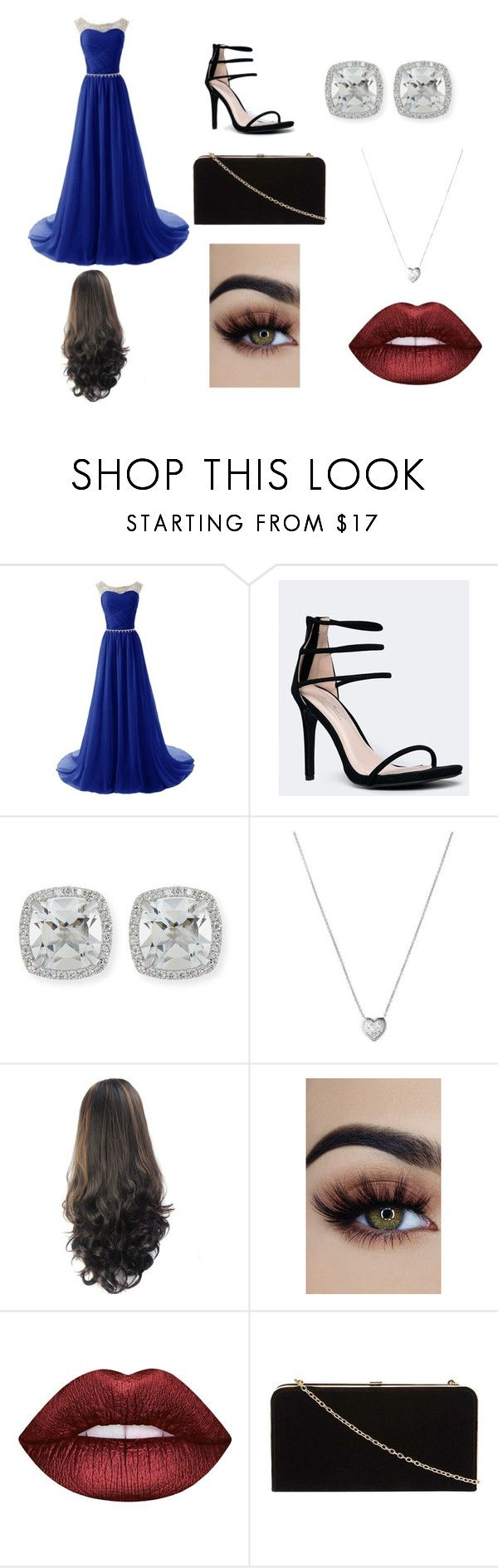 """""""Prom"""" by gabrielle-acasio on Polyvore featuring Anne Michelle, Frederic Sage, Links of London, Lime Crime and Dorothy Perkins"""