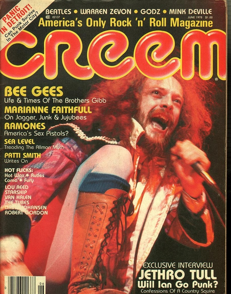 Image result for creem magazine 1978