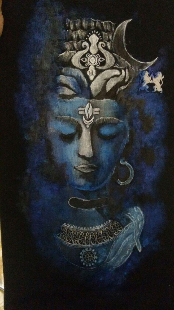 Shiva #TshirtPainting #Shiv