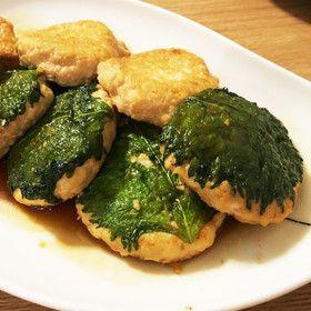 話題入♬鶏ひき肉と豆腐のふわふわつくね☆