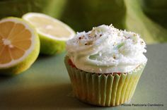 Cupcakes lime e cocco | Piccola Pasticceria Clandestina