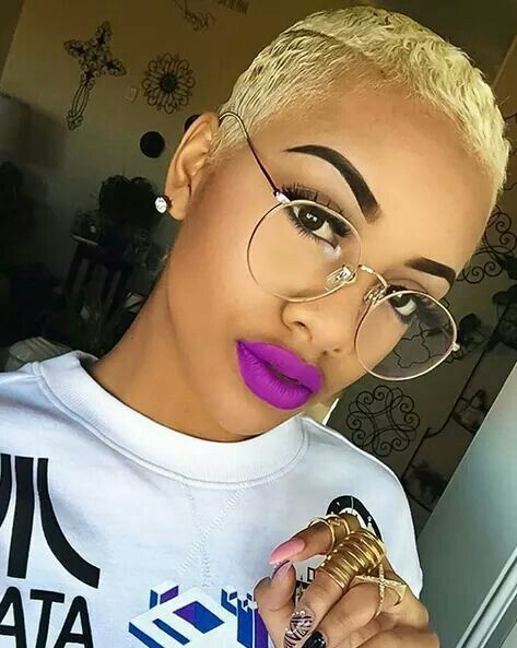short haircuts for women for black women go bold tedrachonte http thirstyroots 5382 | 8a511f50def8e3c7cf15a2643ab1cb75