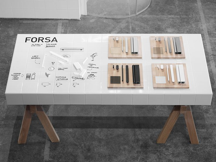 Might be useful to just have some flat tables to exhibit probes or co design artefacts http://www.formuswithlove.se/