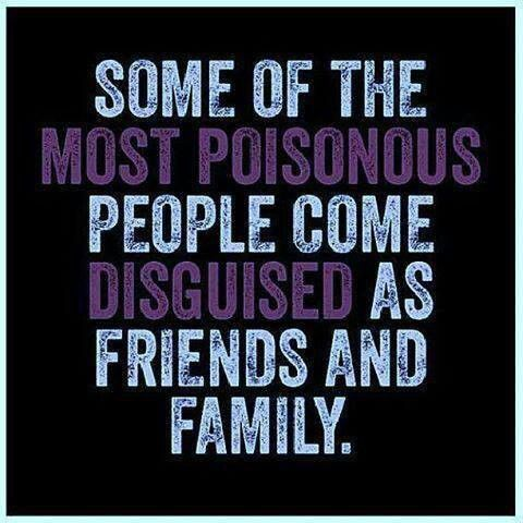 "Mainly some EX friends.....well were they even ""friends"" to begin with????....that's the question."