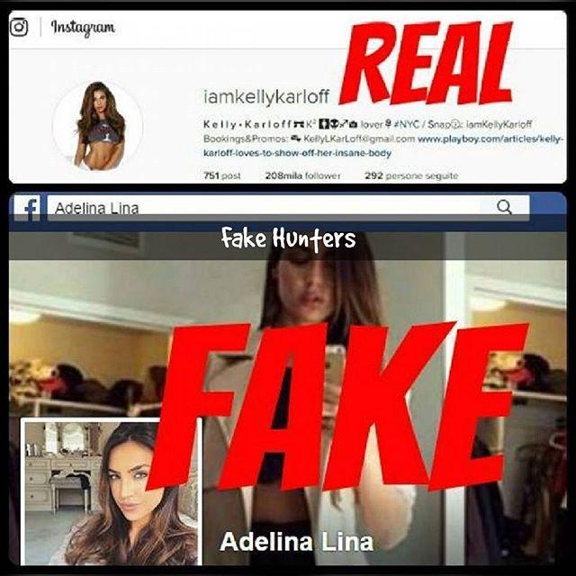 Adelina Lina (alias #florijasulejmani ) pretends to be @iamkellykarloff on Facebook. #fakehunters #fakebook #fakeprofile #adelinalina #iamflorijasulejmani #fakeofkellykarloff #fake #kellykarloff #stopfakes #stopfake #beoriginal