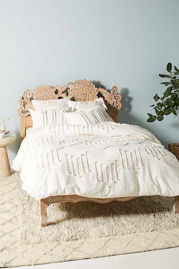 Embellished Eula Duvet Cover Bed Linen Design Bed Linens Luxury