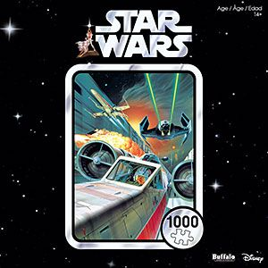 Star Wars 40th Anniversary Use the Force, Luke 1000pc Puzzle | ThinkGeek