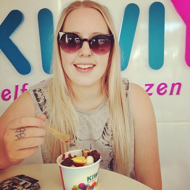 Instagram photo by @kelkmacme (kelkmacme) | KiwiYo Self Serve Frozen Yoghurt www.fb.com/kiwiyonz  | www.kiwiyo.co.nz #kiwiyo #froyo