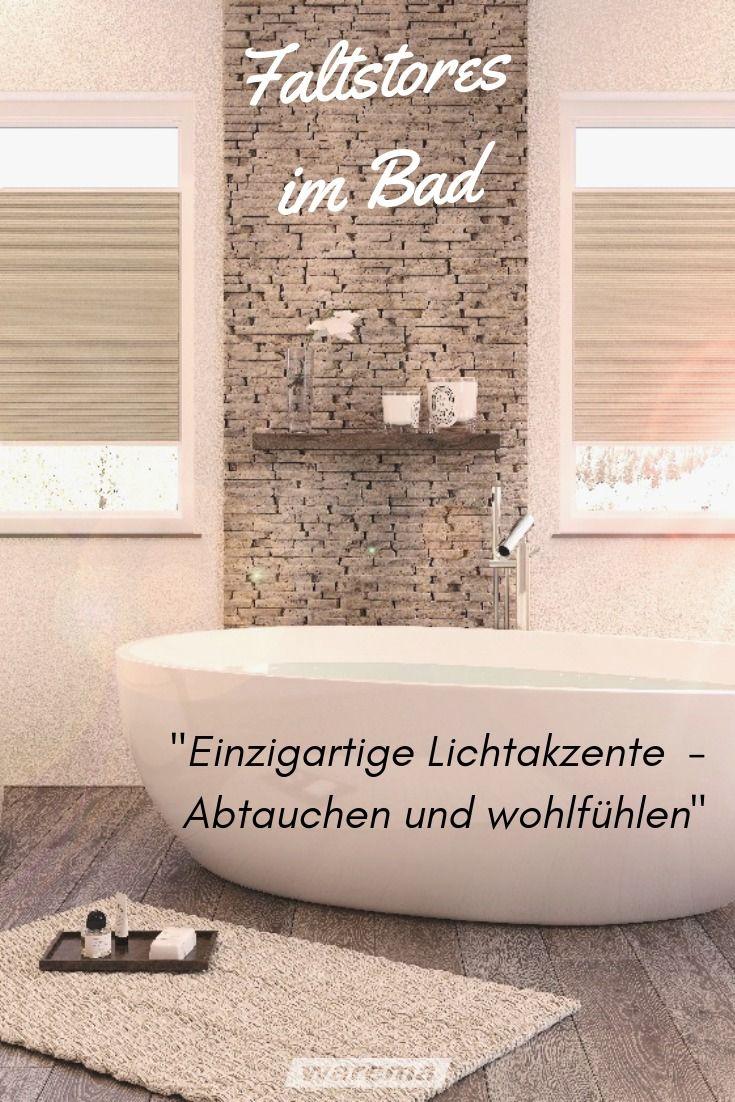 Sonnenschutz für das Badezimmer: Rollo, Plissee & Jalousien ...