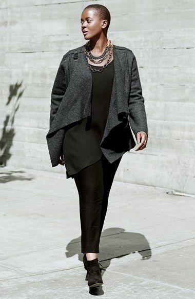 Eileen fisher plus size linen pants