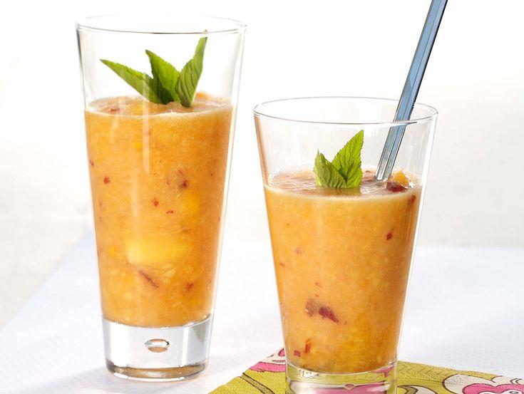 AMC | Mango and coconut smoothie