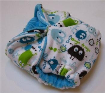 Handmade made newborn diaper by My Diaper Addiction
