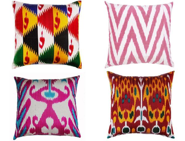 The 9 best images about EtHnO on Pinterest Owl pillows, Leder - ikat muster ethno design