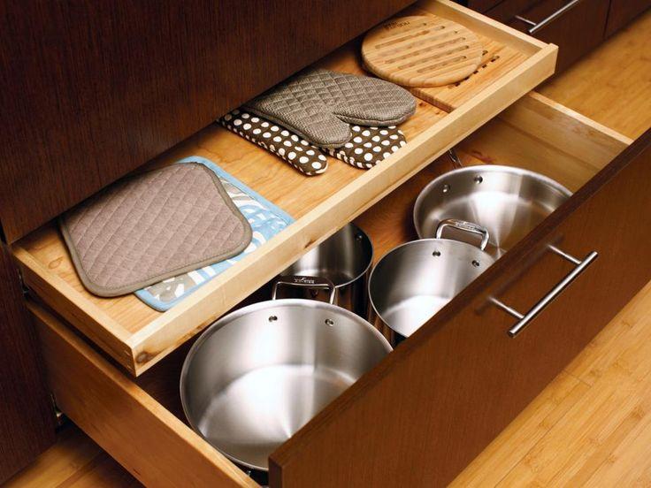 Kitchen Drawers Instead Of Cabinets 138 best kitchen organization images on pinterest | kitchen