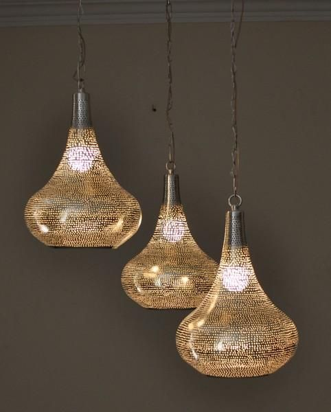 Contemporary Moroccan Hanging Lanterns
