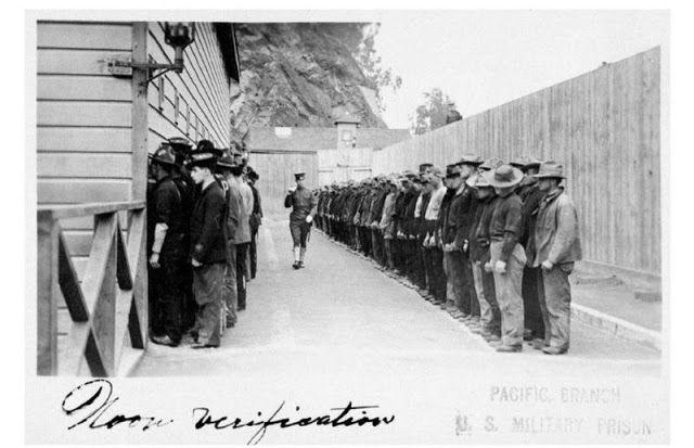 Новости: Исторические фотографии Алькатраса