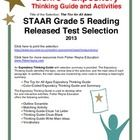 This classroom tested product includes the complete analysis for the STAAR released test selection: The Toy for All Ages. It is released as a 5th g...