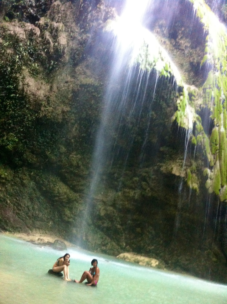 The Hidden Tumalog Falls in Oslob, Cebu. AWESOME.