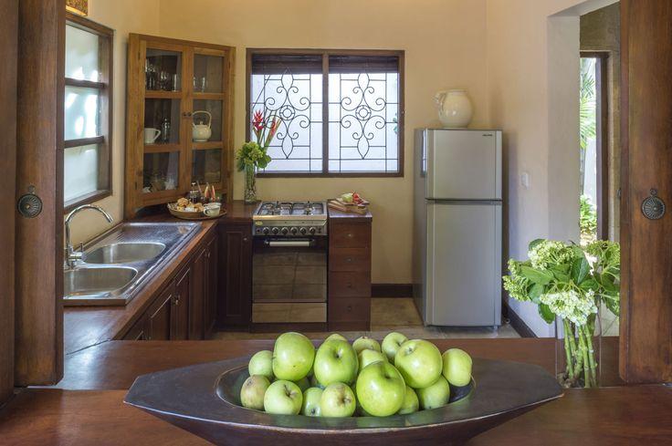 Villa 4 kitchen at Villa Kubu, Seminyak, Bali