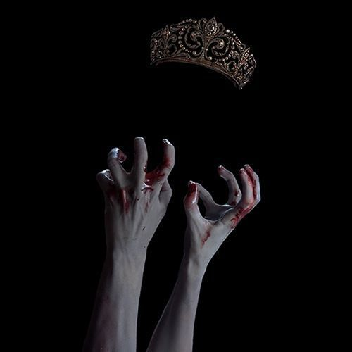 Look a little closer, look a bit longer, don't you see the invisible women reaching for the dark space where her face should be. not clamped hands reaching for the floating crown. wait in till the illogical becomes logical