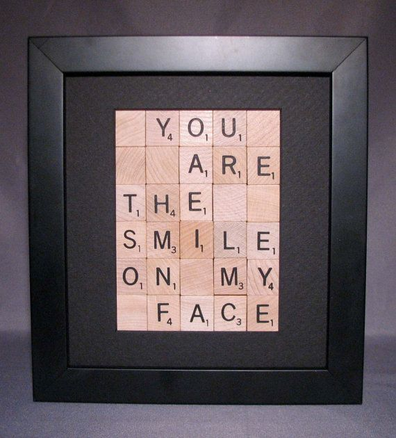 you are the smile on my face scrabble