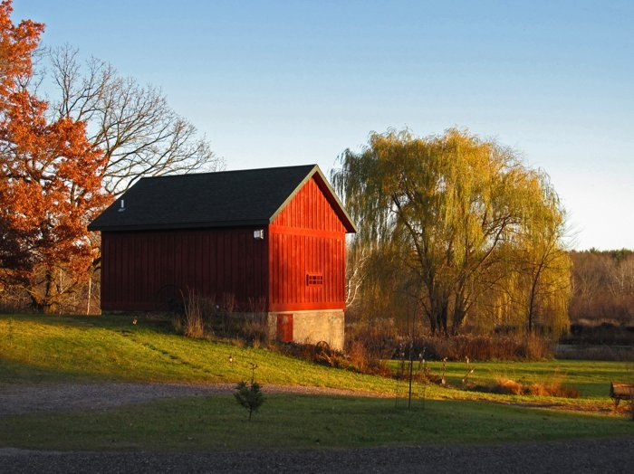 Autumn Evening - Taken near Reedsburg Wisconsin Published in Anchor Bank's 2011 calendar (September)