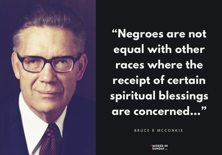 Bruce R. McConkie #lds  So thankful to be an EX-mormon.