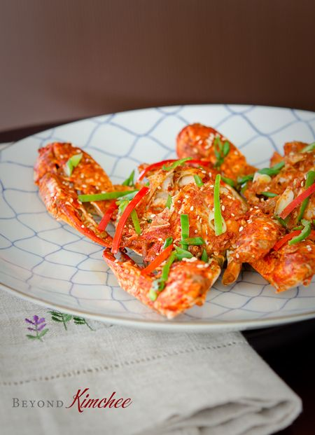 Korean style chili crab
