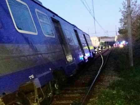 Deraglia treno della Circumflegrea nessun ferito