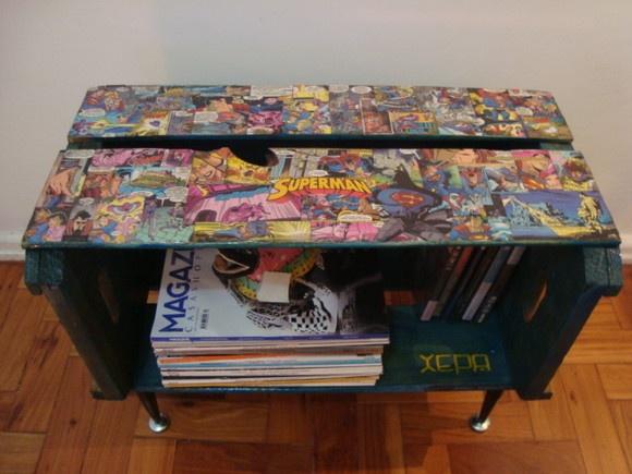 caixote de laranja: January, Xepa Boxes, Caixot De, The Metals, Xepa Superman, De Gibi, Mesinha Xepa, Of Laranja, Ideia Para
