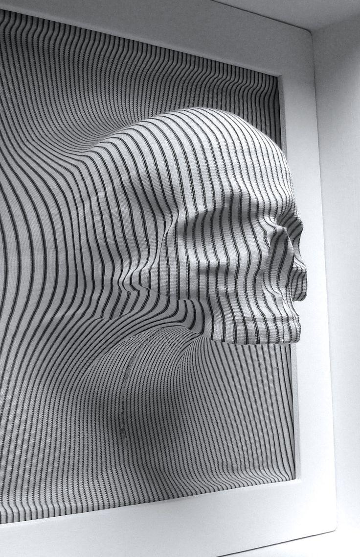Rowan Mersh   Fabric Skull, 2005