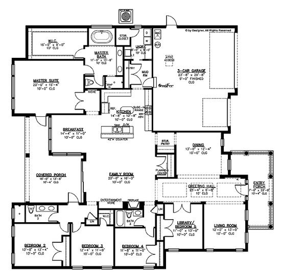 5 Bedroom House Designs 125 Best Images About Floor Plans On Pinterest  Cabin Full Bath