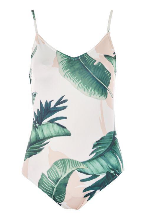 **Sandy Palm Print Bodysuit by WYLDR