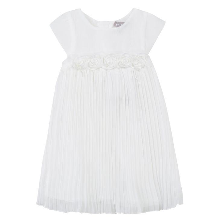 #babygirl #party #white #chic #ss15 #fashion #dress #zgeneration #graindeblé