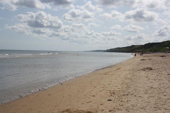 Omaha Beach, Playas del Desembarco de Normandía (D Day). France.