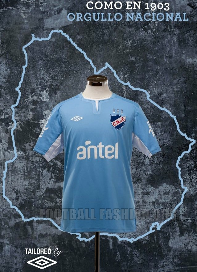 "Club Nacional de Football Umbro 2012 ""Celeste"" Jersey"