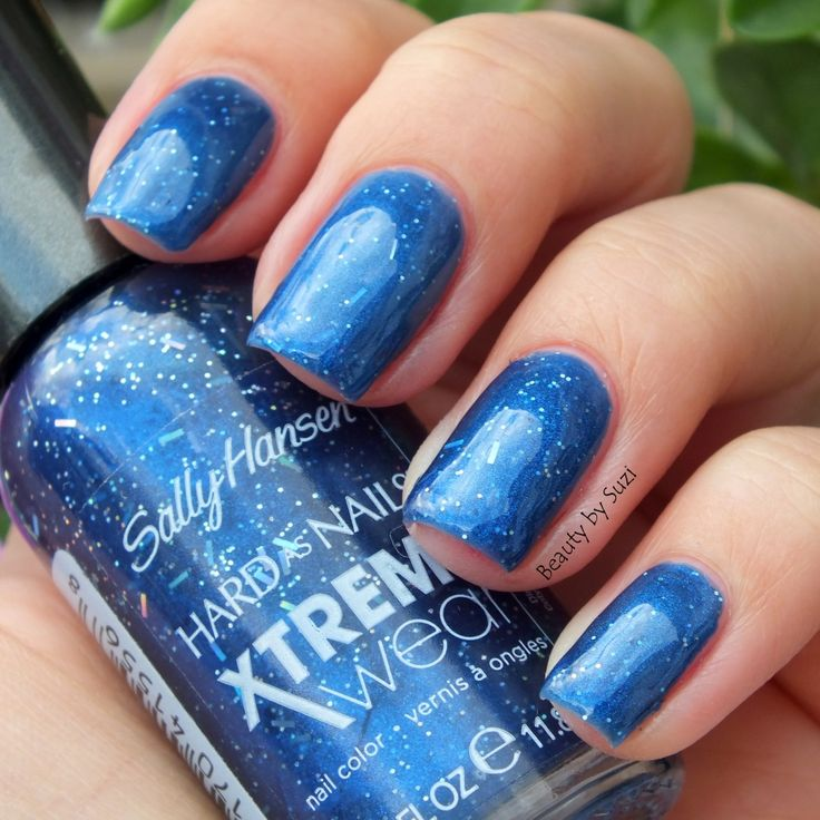 Sally Hansen Hard As Nails Xtreme Wear, 423 Blue Boom