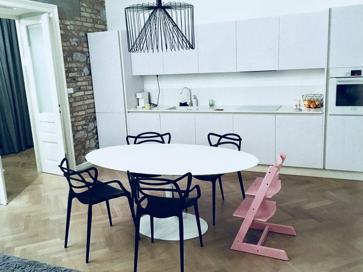 Arredamento bauhaus design alta qualità italiana tavolo tulip Saarinen