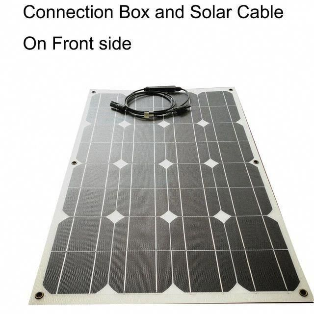 Flexible Solar Panel 80w Etfe Eva Film Photovoltaic Solar Panel Thermostable 1 In 2020 Solar Technology Solar Energy Panels Solar Energy
