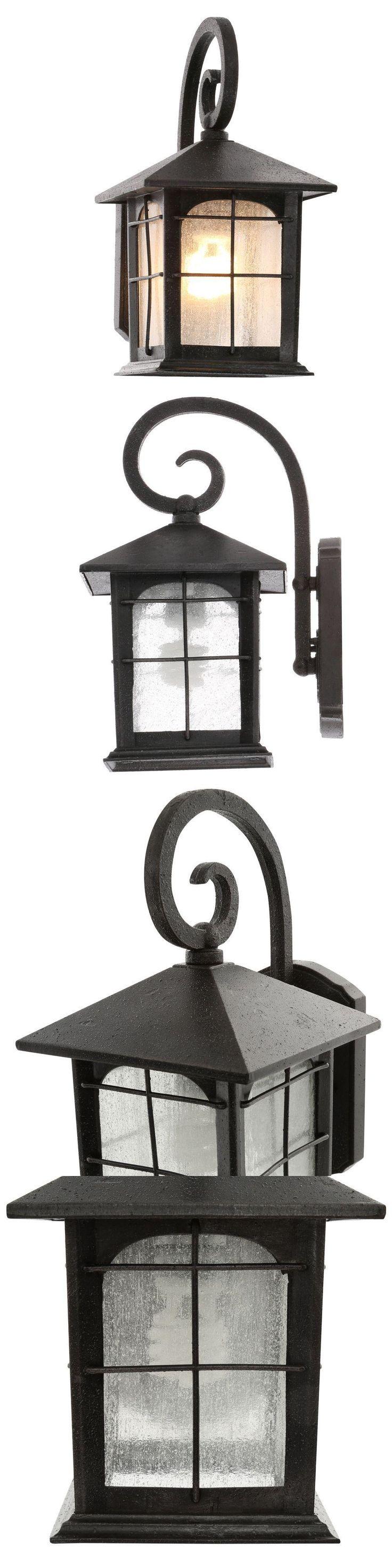Outdoor Wall And Porch Lights 94939: 1 Light Outdoor Wall Lantern Light  Fixture Aged