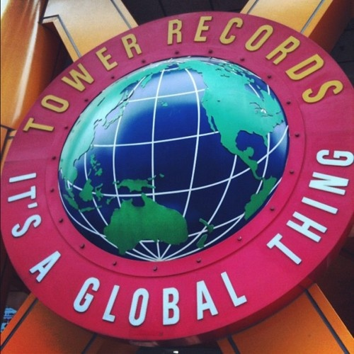 #Tower #Records #Shibuya #Tokyo #CD #Store #Building #Japan #日本 #东京 #hecmnt
