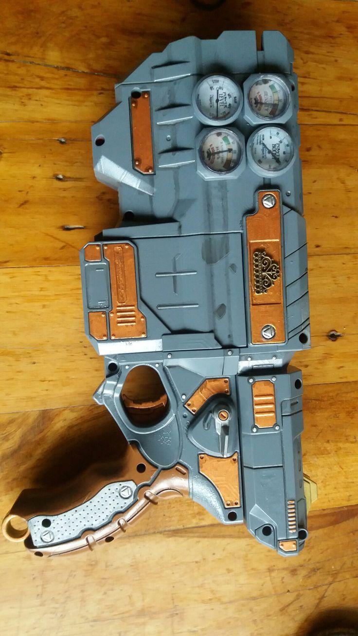 Finished Vigilon nerf gun conversion