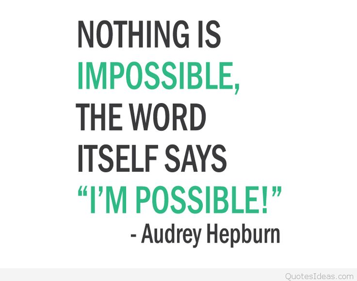 Best 25+ Impossible Quotes Ideas On Pinterest
