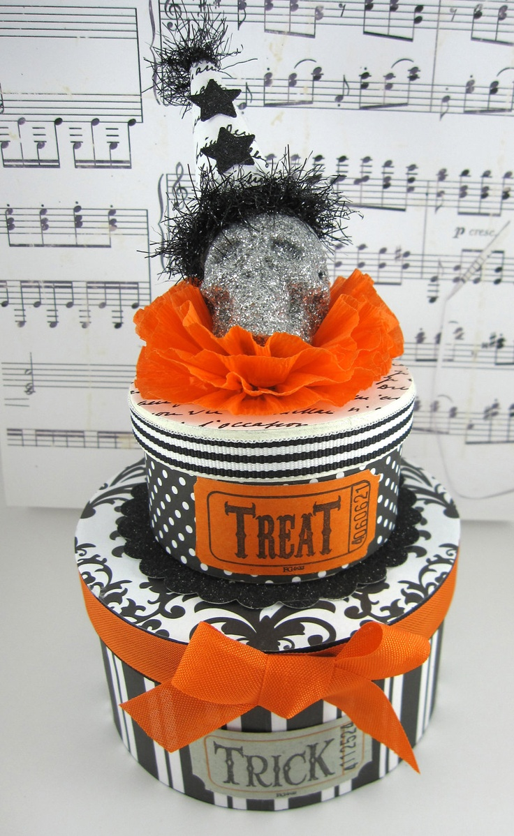 Halloween Box Decorations 122 Best Halloween Decorations Images On Pinterest  Halloween