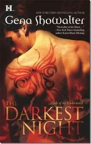 Review: The Darkest Night (Lords of the Underworld #1) by Gena Showalter